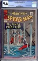 Amazing Spider-Man #33 CGC 9.6 ow