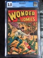 Wonder Comics #5 CGC 2.5 cr/lt