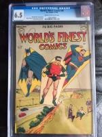 World's Finest Comics #46 CGC 6.5 cr/ow