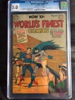 World's Finest Comics #71 CGC 5.0 ow/w