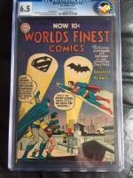 World's Finest Comics #74 CGC 6.5 cr/ow