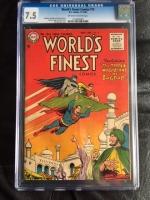 World's Finest Comics #79 CGC 7.5 ow/w