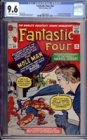 Fantastic Four #22 CGC 9.6 ow/w