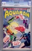 Aquaman #24 CGC 9.2 ow/w