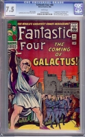 Fantastic Four #48 CGC 7.5 w