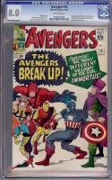 Avengers #10 CGC 8.0 ow