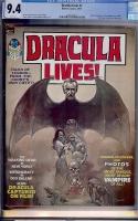 Dracula Lives #1 CGC 9.4 w