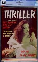 Thriller #2 CGC 8.5 ow/w