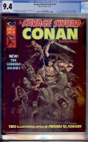 Savage Sword of Conan #6 CGC 9.4 w