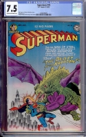 Superman #78 CGC 7.5 cr/ow