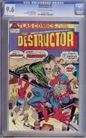 Destructor #2 CGC 9.6 ow/w