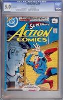 Action Comics #493 CGC 5.0 w Indian Edition