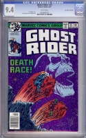 Ghost Rider #35 CGC 9.4 w Don Rosa Collection
