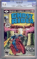 Ghost Rider #40 CGC 0.0 w Don Rosa Collection