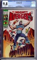 Avengers #63 CGC 9.8 w