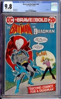 Brave and the Bold #104 CGC 9.8 ow/w