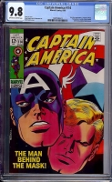 Captain America #114 CGC 9.8 ow/w