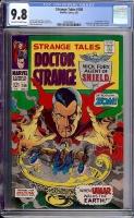 Strange Tales #156 CGC 9.8 ow/w