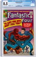 Fantastic Four #42 CGC 8.5 ow/w