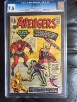 Avengers #2 CGC 7.5 ow/w