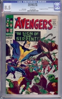 Avengers #32 CGC 8.5 w White Mountain