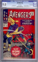 Avengers #35 CGC 9.0 w White Mountain