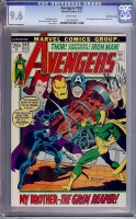 Avengers #102 CGC 9.6 w White Mountain