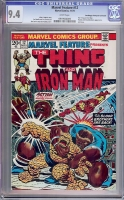 Marvel Feature #12 CGC 9.4 w Don/Maggie Thompson Collection