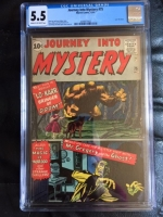 Journey Into Mystery #75 CGC 5.5 cr/ow
