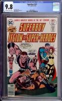 Superboy #221 CGC 9.8 ow/w
