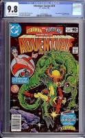Adventure Comics #470 CGC 9.8 ow/w