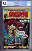 Daredevil #125 CGC 9.6 w
