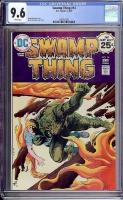 Swamp Thing #14 CGC 9.6 w
