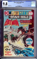 Brave and the Bold #120 CGC 9.8 ow/w