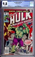 Incredible Hulk #206 CGC 9.8 w
