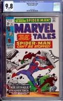 Marvel Tales #25 CGC 9.8 w