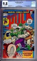 Incredible Hulk #164 CGC 9.8 w