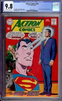 Action Comics #362 CGC 9.8 ow/w