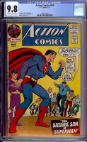 Action Comics #410 CGC 9.8 ow/w