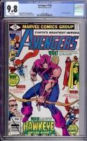 Avengers #189 CGC 9.8 w