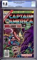 Captain America Annual #3 CGC 9.8 ow/w