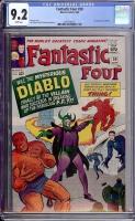 Fantastic Four #30 CGC 9.2 w