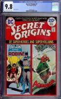 Secret Origins #7 CGC 9.8 ow/w