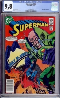 Superman #386 CGC 9.8 w