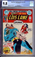 Superman's Girlfriend Lois Lane #125 CGC 9.8 ow/w