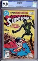Superman #1 CGC 9.8 w
