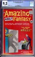 Amazing Adult Fantasy #8 CGC 9.2 ow