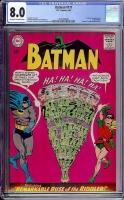 Batman #171 CGC 8.0 ow/w