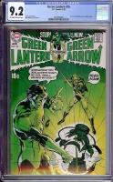 Green Lantern #76 CGC 9.2 ow/w