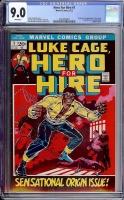 Hero For Hire #1 CGC 9.0 w